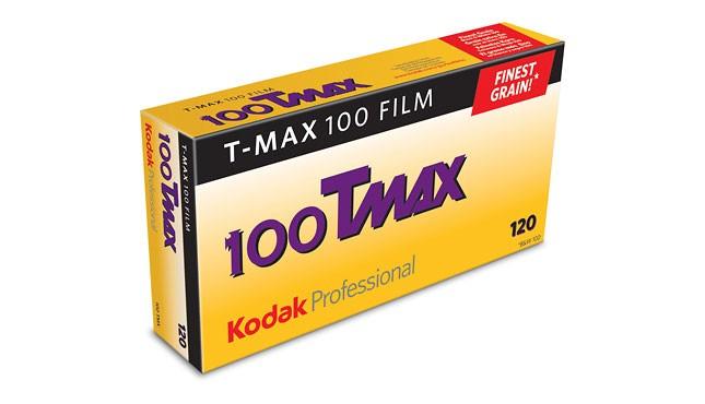 Kodak T-Max 100 120 5 pak