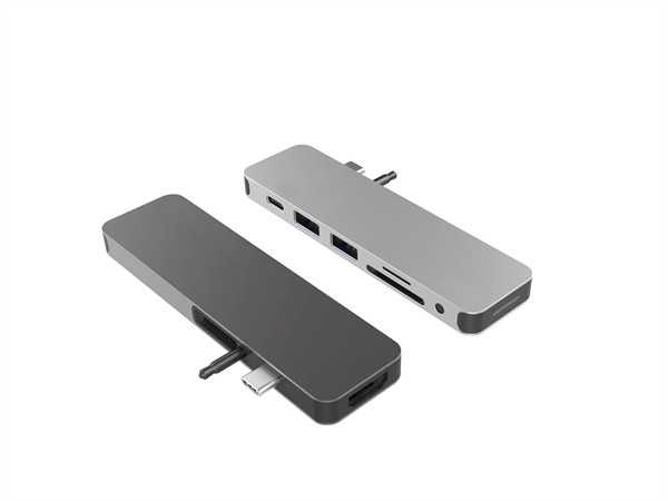 Hyper Solo hub for Macbook & USB-C devices space gray