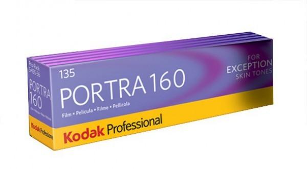 Kodak Portra 160 135-36 5 pak