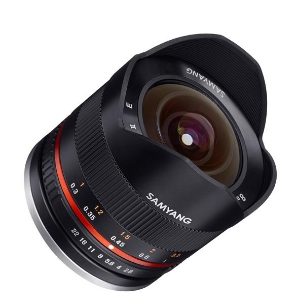 Samyang 8mm f/2.8 II Fisheye MC Fujifilm X Zwart