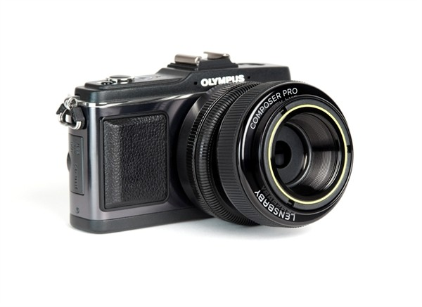 Lensbaby Composer Pro Olympus Micro 4/3 met Double Glass Optic