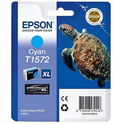 Epson inktpatroon T1572 Cyan