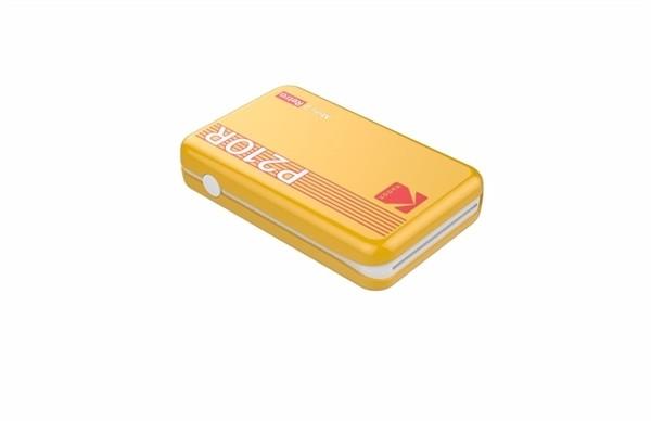 Kodak Mini 2 retro printer geel