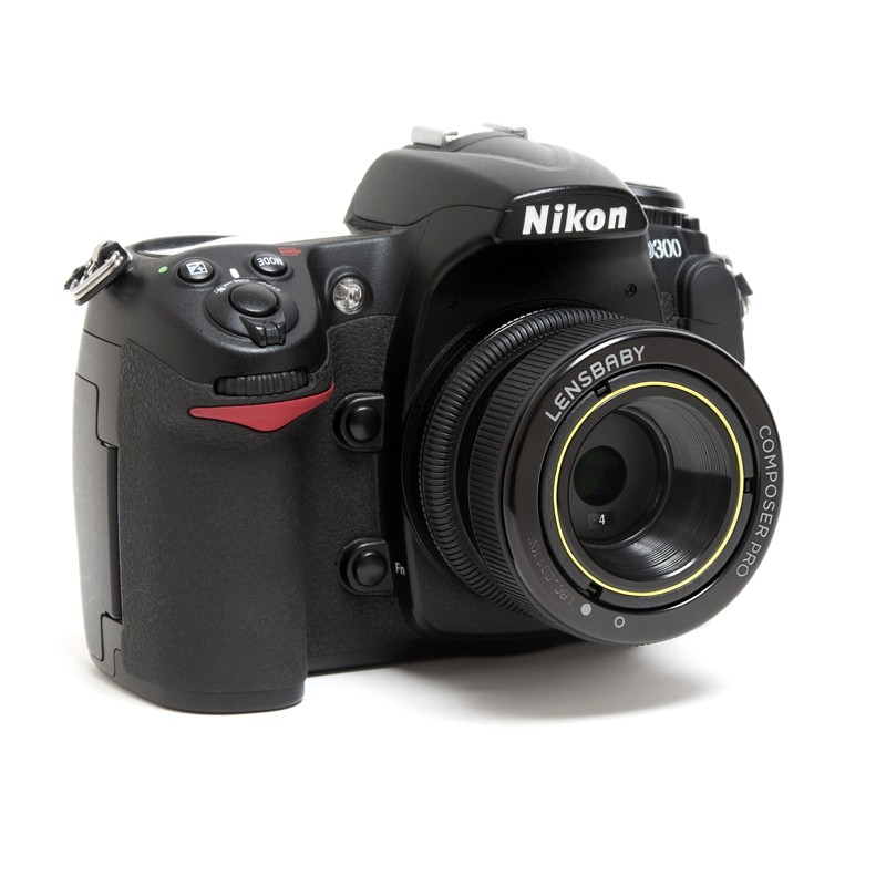 Lensbaby Composer Pro met Sweet 35 Optic Nikon