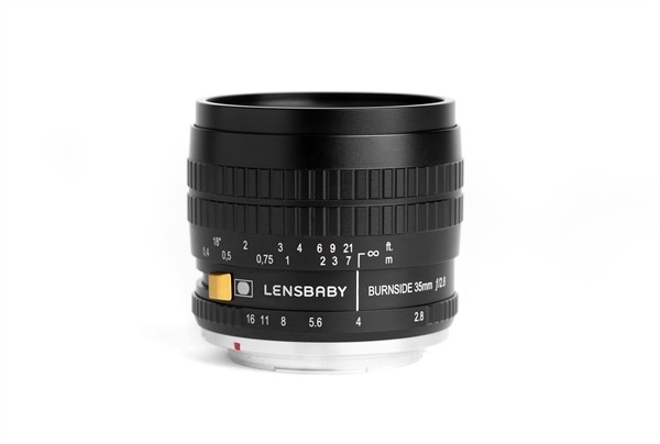 Lensbaby Burnside 35 Nikon F (FX)