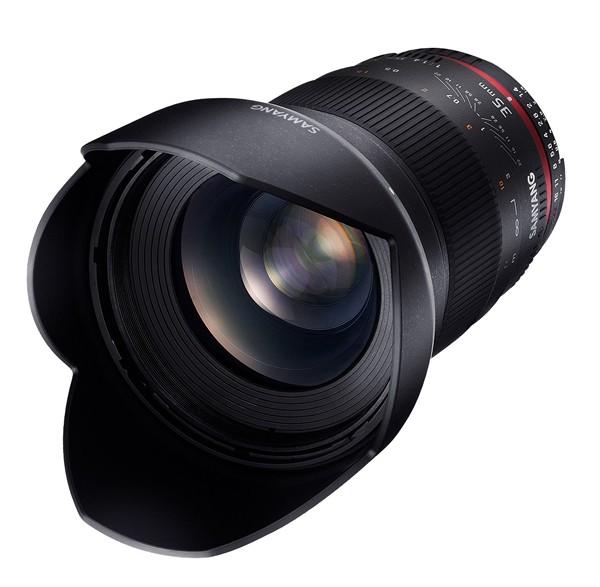 Samyang 35mm f/1.4 ED AS UMC Canon