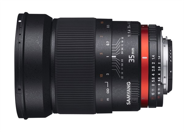 Samyang 35mm f/1.4 ED AS UMC Canon AE