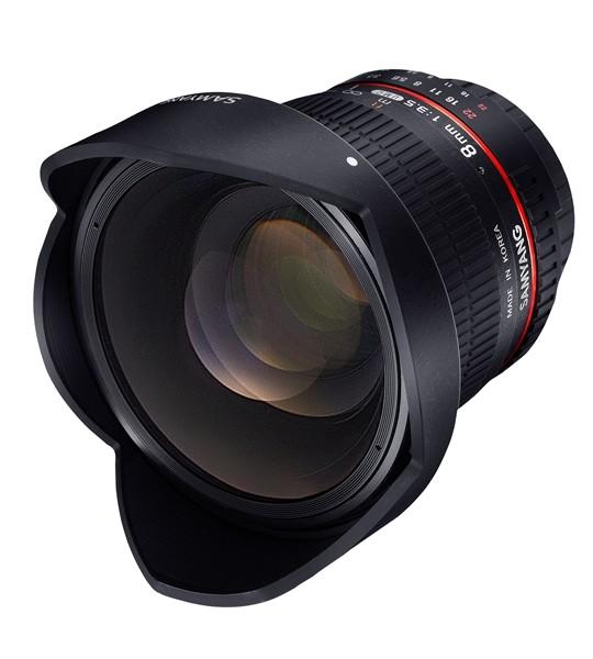 Samyang 8mm f/3.5 Fisheye MC Canon CS-II
