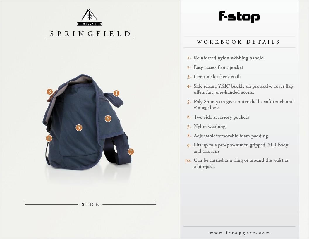 F-Stop Springfield Blue