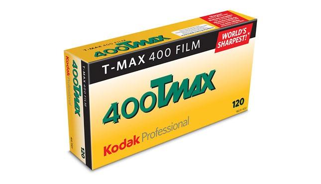 Kodak T-Max 400 120 5 pak