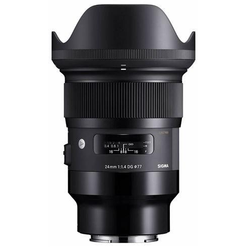 Sigma 24mm/1.4 DG HSM Art voor Sony E-Mount