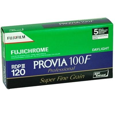 Fujifilm Provia 100 120 5 pak