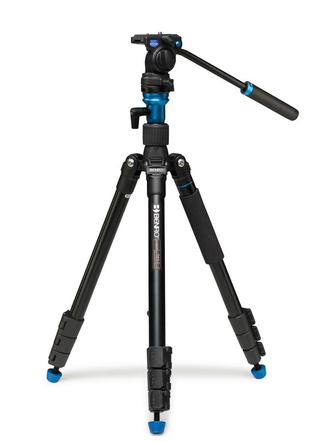 Benro Aero 2 Travel Video Statief Kit