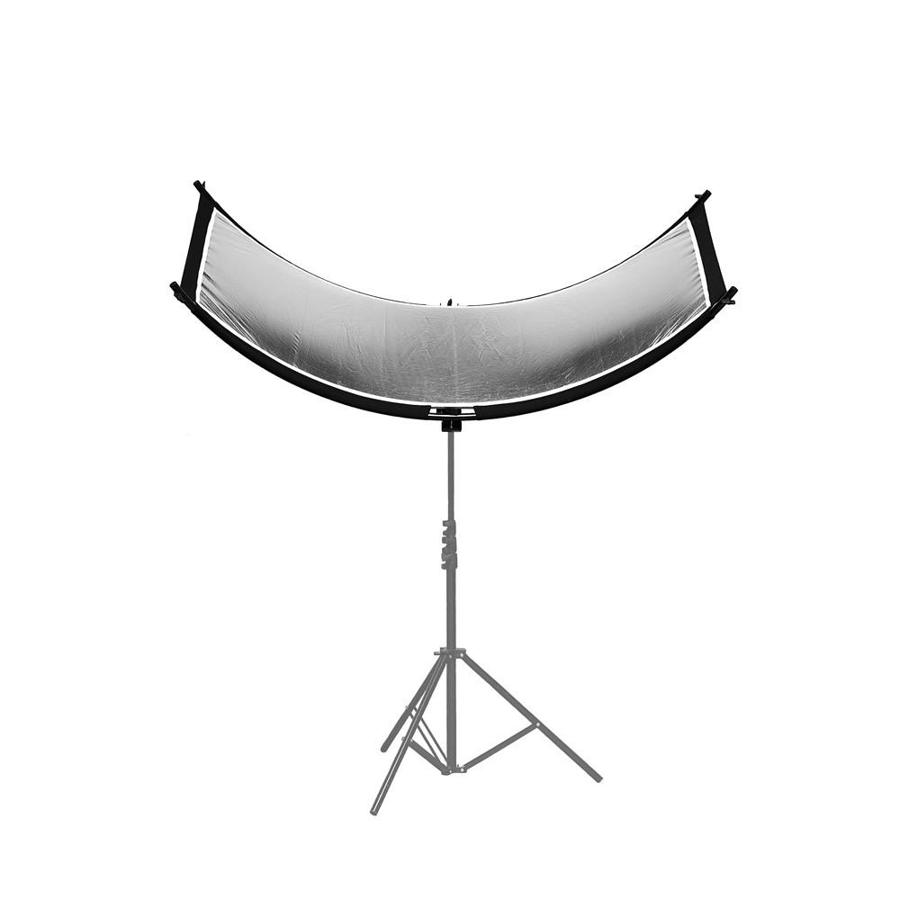 Caruba Curved Face Reflector Pro - 180cm x 65cm
