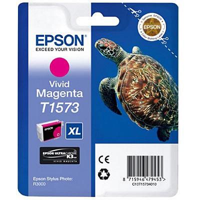 Epson inktpatroon T1573 Vivid Magenta