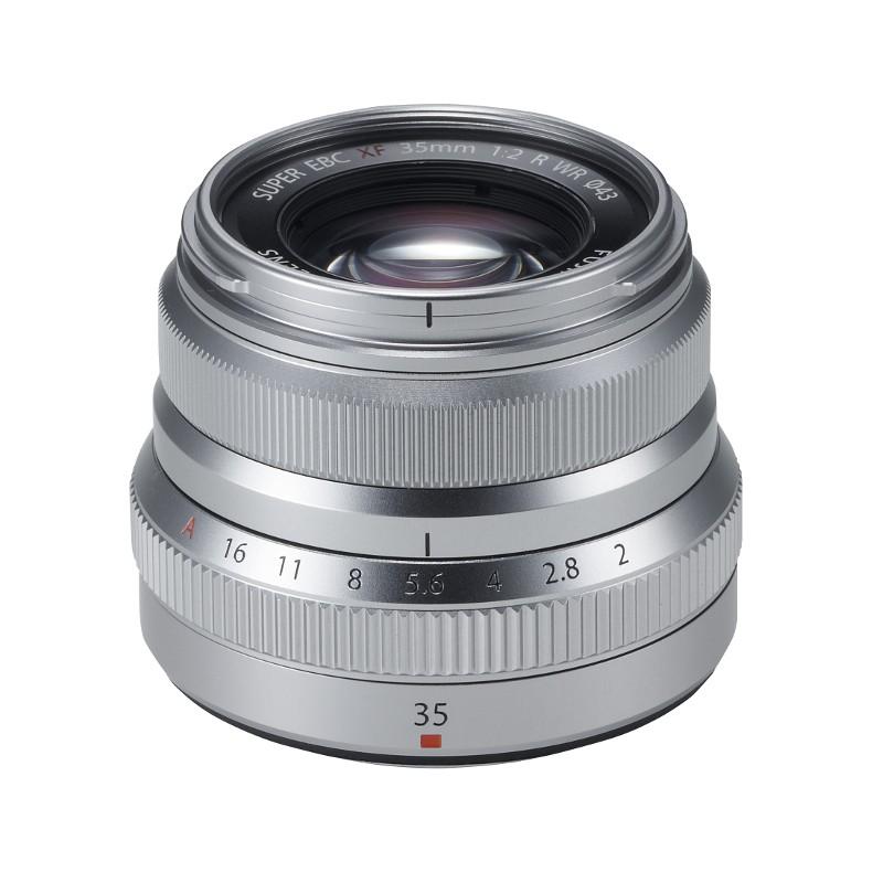 Fujifilm XF-35mm f/2.0R WR Zilver
