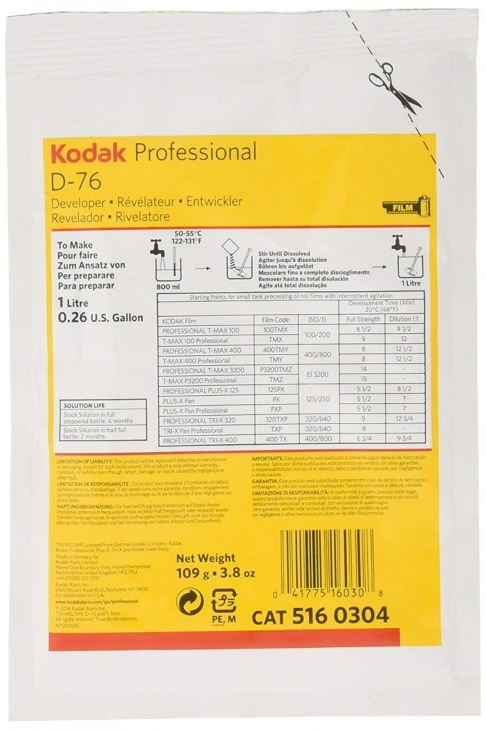 Kodak D76