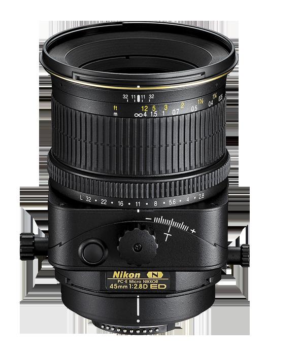 Nikon 45mm f/2.8D ED PC-E