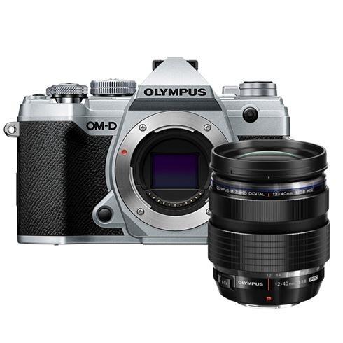 Olympus OMD EM5 mark III Zilver+ 12-40/2.8