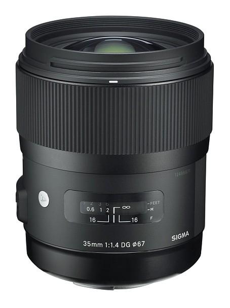 Sigma 35mm/1.4 DG HSM Art voor Nikon