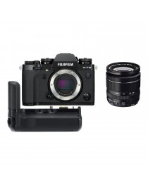Fujifilm X-T3 Zwart + 18-55mm f/2.8-4.0 OIS + VG-XT3 Battery Grip