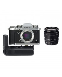 Fujifilm X-T3 Zilver + 18-55mm f/2.8-4.0 OIS + VG-XT3 Battery Grip