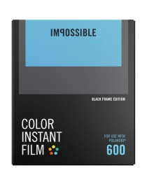 Impossible Color Film Black Frame voor Polaroid 600