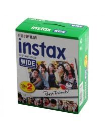 Fujifilm instax wide film 2 x 10 pak