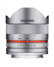 Samyang 8mm f/2.8 II Fisheye MC Sony E-Mount Zilver