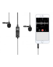 Boya BY-M1DM dual lapel mic for smartphones & DSLR's