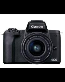 Canon EOS M50 Mark II M15-45 Black