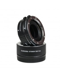 Caruba Extension Tube set Canon M-Serie Chroom