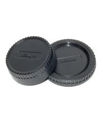 Caruba LB-NI1 Achterlensdop en Bodydop voor Nikon