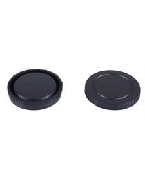 Caruba LB-SO2 Achterlensdop en Bodydop voor Sony NEX E Mount