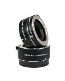 Caruba Extension Tube set Nikon 1-Serie Aluminium