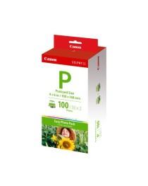 Canon E-P100 Briefkaart formaat 10x15cm Inkt en Papier-set