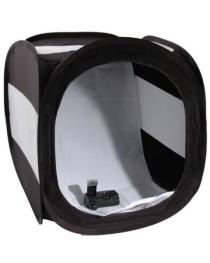 Falcon Eyes Opnametent Zwart #LT60B 60x60 Opvouwbaar