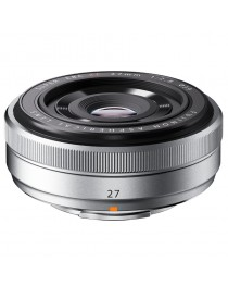Fujifilm XF 27mm f/2.8 Pancake Zilver