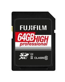 Fujifilm SDHC 64GB Pro C10 UHS-II