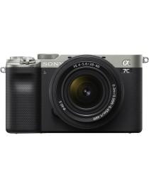 Sony A7C Zilver + SEL 28-60mm F4-5.6