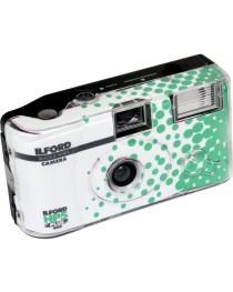 Ilford HP5 Plus wegwerp camera met flits 27exp