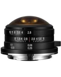 LAOWA 4mm F/2.8 Circular Fisheye Fujifilm X