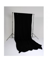 Lastolite Achtergrond Gordijn Ezycare Zwart 3x3,5 Meter