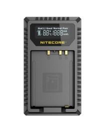 Nitecore FX1 Compacte Dubbel Lader voor Fujifilm NP-FW126 (S) + USB