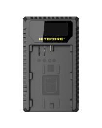 Nitecore UCN1 Lader voor Canon LP-E6(N) + LP-E8 met indicator + USB
