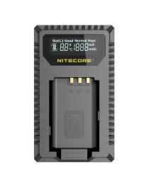 Nitecore USN2 Compacte Dubbel Lader voor Sony NB-B1X met indicator + USB