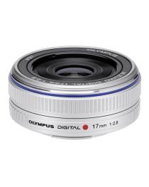 Olympus M.Zuiko Digital 17mm f/2.8 Zilver