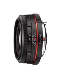 Pentax HD DA 70mm f/2.4 Limited Zwart