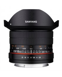 Samyang 12mm f/2.8 ED AS NCS Fisheye Canon M