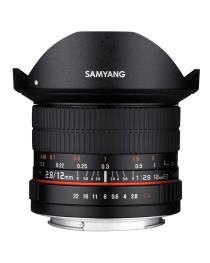 Samyang 12mm f/2.8 ED AS NCS Fisheye Canon M